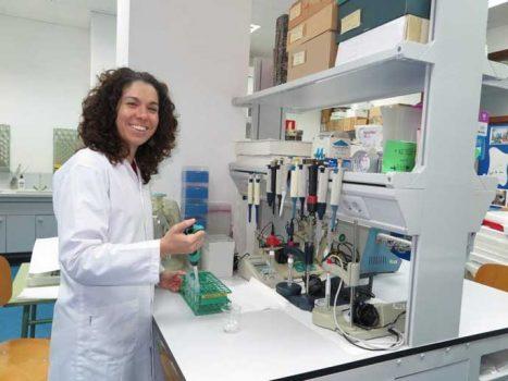 María Nazaret González. Foto UPCT